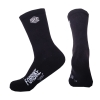Chaussette Broderie Black