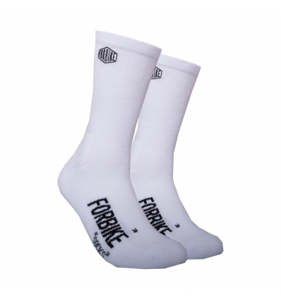 Chaussette Broderie White