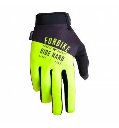 Gloves Lycra Yellow Youth