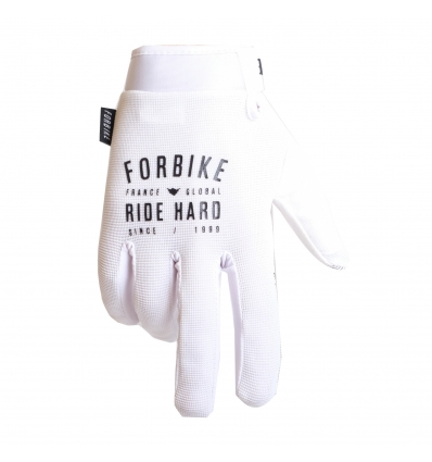 Gants vtt mtb SPEED white